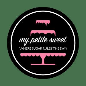 My Petite Sweet bakery logo